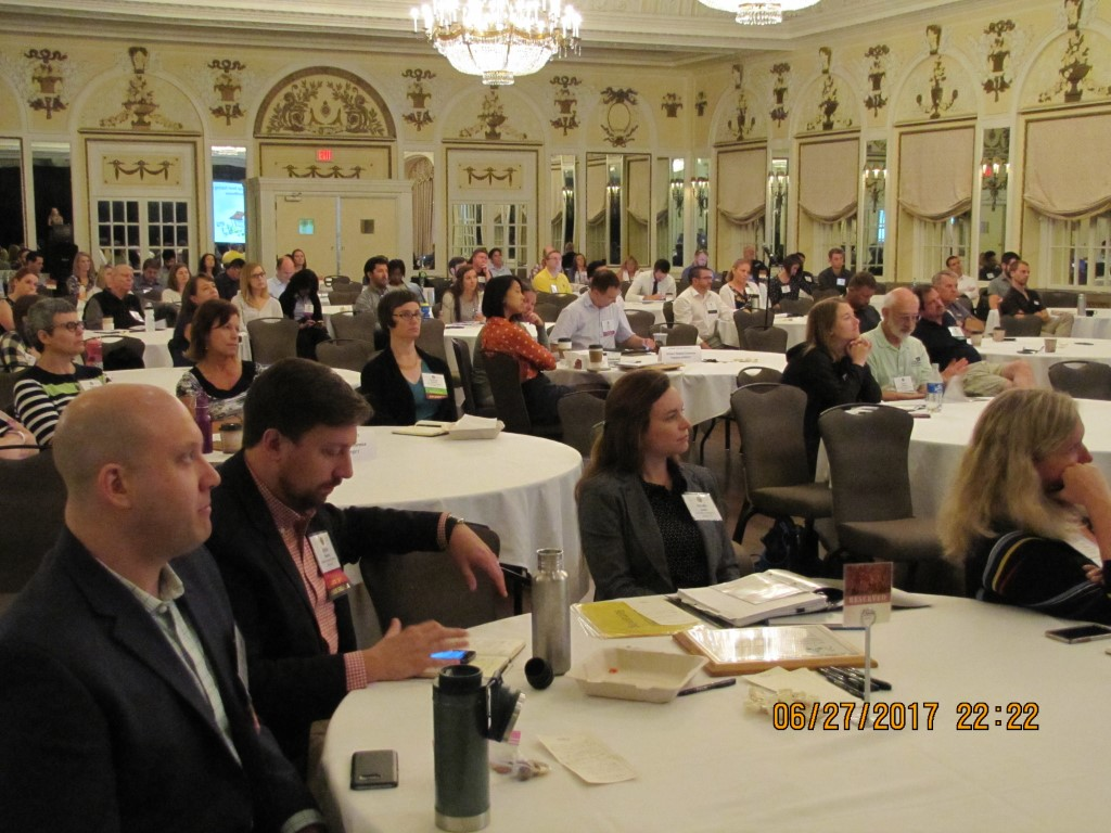 Listeners at the 2017 Professional Development Seminar