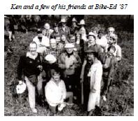 Ken and Bike-ed friends